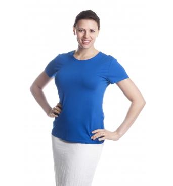 KR-101 - dámské tričko jednobarevné