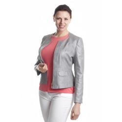 ST400 - dámské šedé sako chanel
