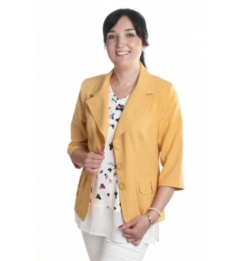 BE003 - Safari -  dámské lněné sako