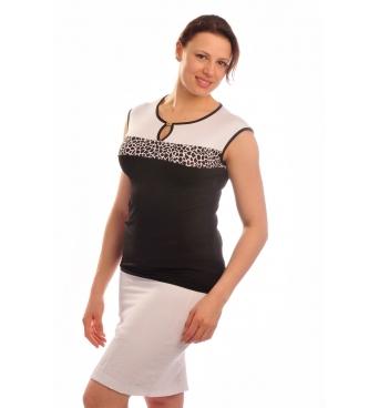 BE008 - dámská sukně lněná