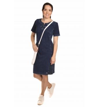 AST 3005J - dámské džínové šaty