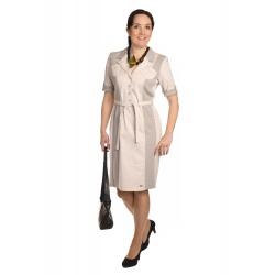 AST3007 - dámské bavlněné safari šaty