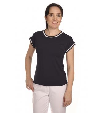 K205B - dámské tmavě modré tričko