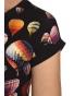K136T - dámské tričko balony černé