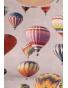 K137T - dámské tričko balony světle šedé