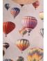 K137 - dámské tričko balony světle šedé krátký rukáv