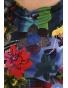 K020-103W - dámský top barevné květy
