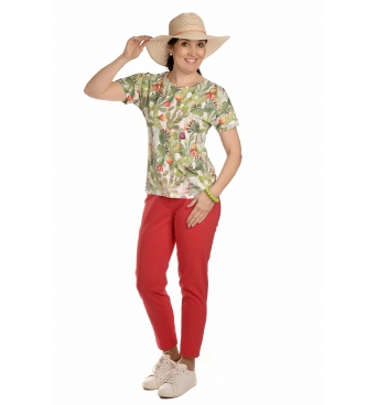 K020-119 - dámské tričko kaktus