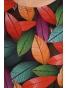 K020-114 - dámské tričko barevné listí