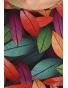 K020-114T - dámské tričko barevné listí