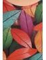 K020-114A - dámský top barevné listí