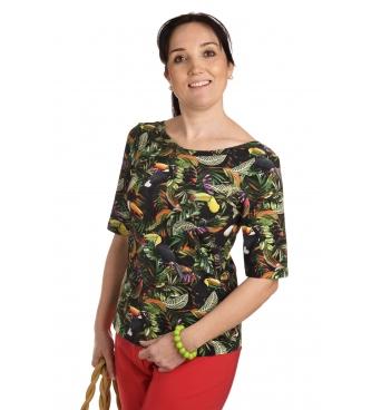 K020-223J - dámské tričko tukani