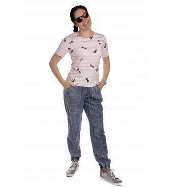 K020-122 - dámské tričko brýle