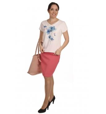 W562 - dámské tričko kolibřík