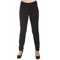 Mariola - dámské klasické kalhoty černé