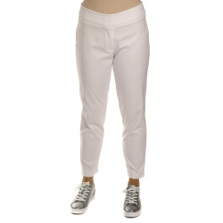 Mariola - dámské klasické kalhoty bílé