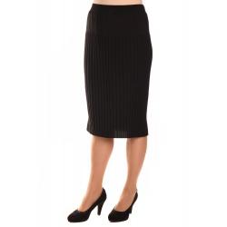 M9872 - dámská sukně plisé černá
