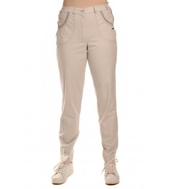 AST2032 - dámské  šedé bavlněné kalhoty