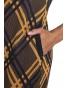 Il Tutto - dámské šaty žluto modré pruhy