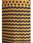 Il Tutto - šaty žlutomodré kostičky