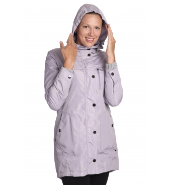 Maroko - dámská světle šedá přechodová bunda