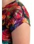 K021-111T - dámské tričko barevná džungle