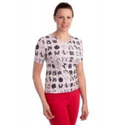 K021-116 - dámské tričko kočky