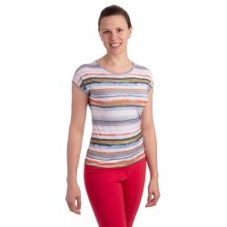 K021-315T - dámské tričko proužky