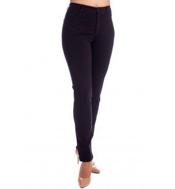 Lafei-Nier - dámské tmavomodré elegantní kalhoty