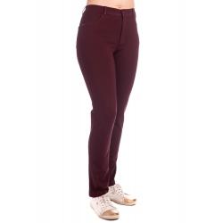 Lafei-Nier - dámské vínové elegantní kalhoty