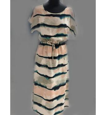 Dámské šaty batikový vzor