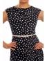Halina - retro šaty s puntíky